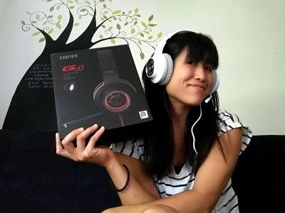 Edifier G4 Gaming Headset: a little bit sexy