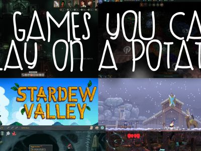 6 Games You Can Play On A Potato