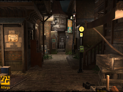 Alleys: A Virtual Experience that Might be Better than the Real Thing