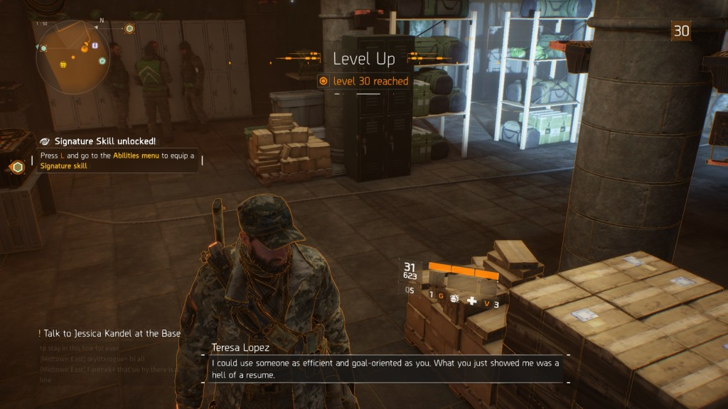 Reddit user nikulasu hit the level cap for The Division just 15 hours after it went live